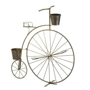 The Old-Fashioned Bicycle Plant Stand