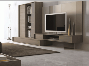 214 PREMIUM MODERN WALL UNIT BY J&M FURNITURE, MADE IN PORTUGAL