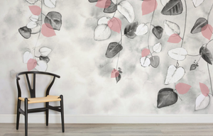 Autumn Leaves Wallpaper Mural