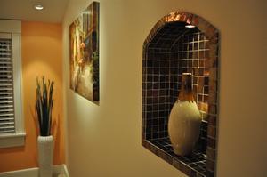 wall niches design tips ideas