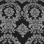 Taffeta Flocking Damask Table Runner