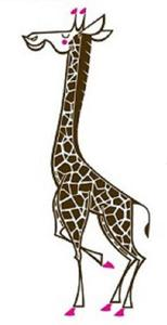 The Giraffe Wall Decal