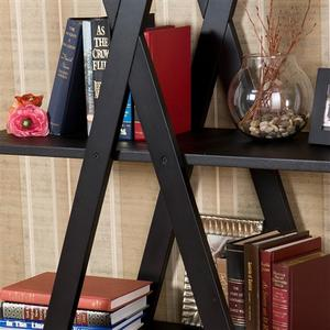 Modern 4-Shelf Bookcase Bookshelf Display Shelves