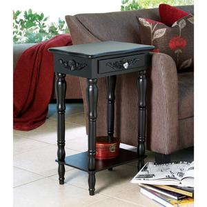 The Colonial Carved Side Table