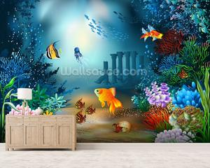 Underwater World Photo Wallpaper