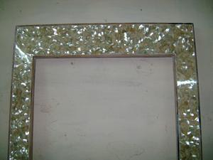 Mother Of Pearl Mop Bathroom Backsplash Vanity Mirror And Island