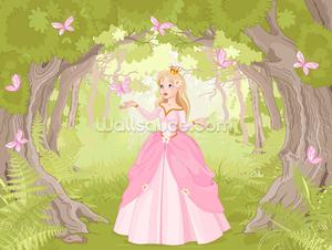 Princess in Enchanted Woodland
