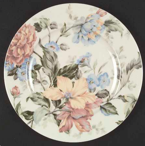 Salad Plate in English Tapestry by Oscar De La Renta