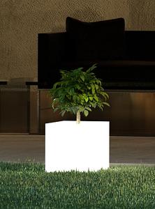 Garden Planter - THE KUBE Planter - Shaped Lights