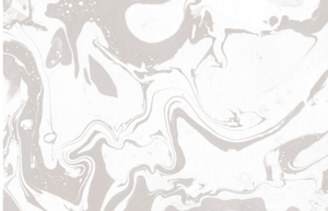Gray and White Marbleized Wallpaper Mural
