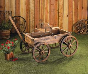 The Real Rolling Wheel Rustic Wagon