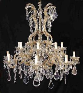 MARIA THERESIA CHANDELIER REF DEEMT 33 LAMPS