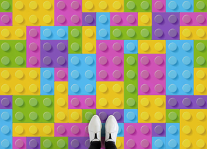 Building Blocks II - Kids Brick Pattern Flooring
