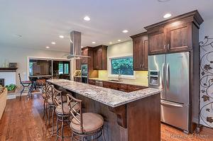 We Will Remodel Kitchen With Top Level Service & Material.