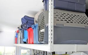Overhead Garage Storage Rack - Safe Ceiling Drop Racks