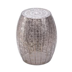 Moroccan Lace Stool - Glamorous Room Accent