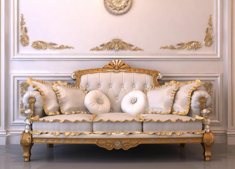 Wooden Sofa Set For Elegant Interiors