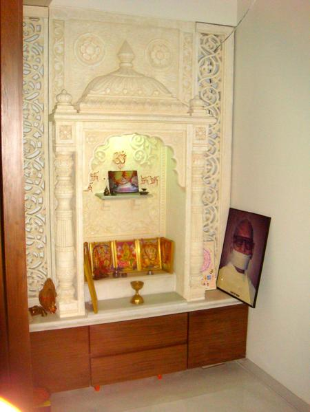 Puja Room Design: Joy Studio Design Gallery