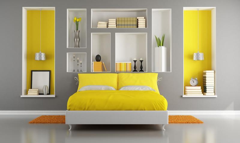 Decoration Chambre Garcon Gris Et Jaune
