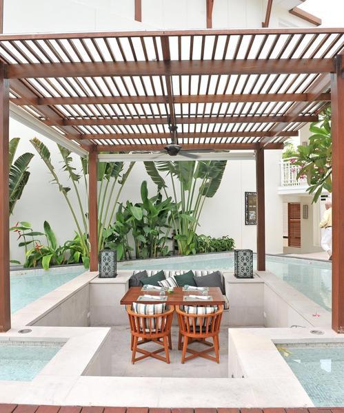 35 Best Designs Terraced Front Yard Ideas: Outdoor Open Terrace Restaurants And Cafe Design Ideas