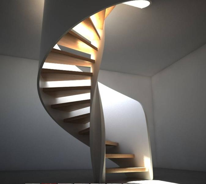 Space Saving Staircase Designs: 10 Spectacular Space-saving Spiral Stairs Designs
