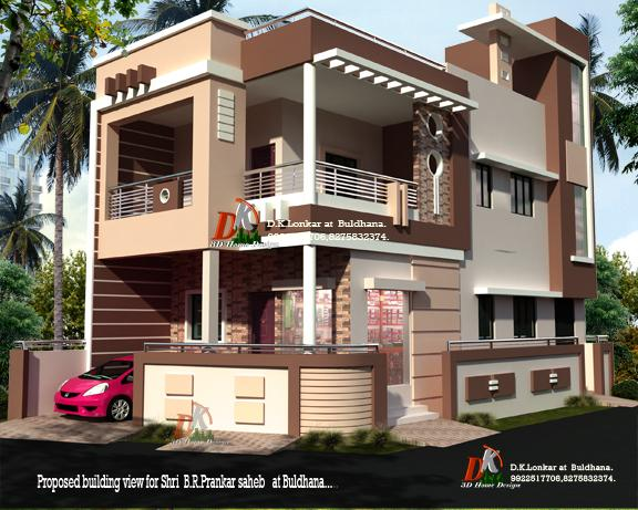 I Will Create Realistic 3d Rendering For Home Bungalows Villas